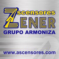 Logo de Ascensores zener grupo armoniza
