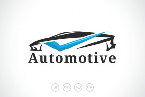 Logo de Automotive motor sport