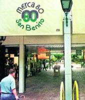 Logo de Centro Comercial Merca 80 San Benito