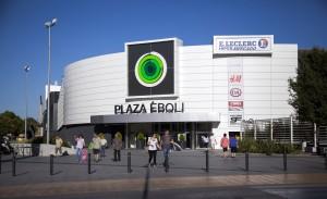 Logo de Centro Comercial Plaza éboli