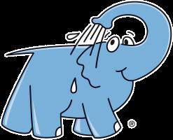 Logo de Elefante Azul
