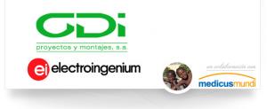 Logo de Gdi proyectos y montajes