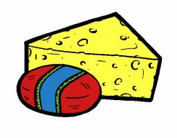 Logo de Quesos y postres del niño