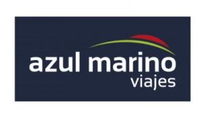 Logo de Viajes Azul Marino